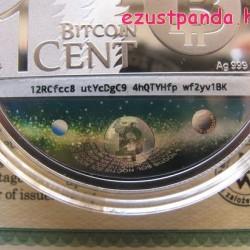 Sol Noctis bitcoin - Binary Eagle 2014 1 uncia ezüst pénzérme