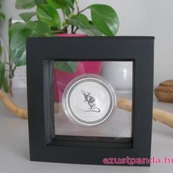 Érme display doboz LINDNER Nimbus 70 1 db érméhez (fekete)