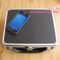 Érme koffer LINDNER 72 db 1 unciás érméhez