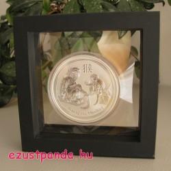 Érme display doboz LINDNER Nimbus 100 1 db érméhez (fekete)