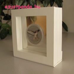 Érme display doboz LINDNER Nimbus 70 1 db érméhez (fehér)