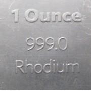 Más nemesfémek (ródium, iridium)