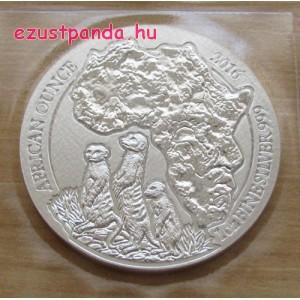Ruanda Szurikáta 2016 1 uncia ezüst pénzérme