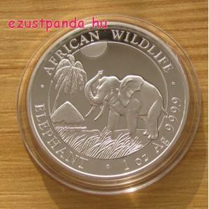 Szomália Elefánt 2017 1 uncia ezüst pénzérme