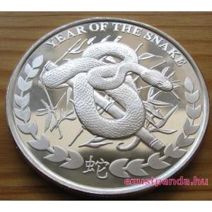 Szomáliföld Kígyó 2013 1 uncia ezüst pénzérme