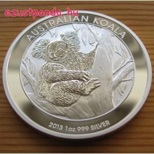 Koala 2013 1 uncia ezüst pénzérme