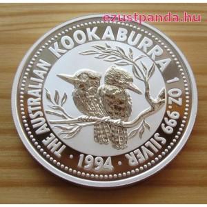 Kookaburra 1994 1 uncia ezüst pénzérme