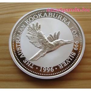 Kookaburra 1996 1 uncia ezüst pénzérme
