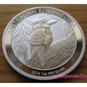 Kookaburra 2014 1 uncia ezüst pénzérme