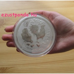 Lunar2 Kakas éve 2017 10 uncia ezüst pénzérme